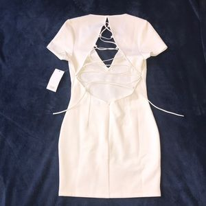 NWT White Mini Dress!